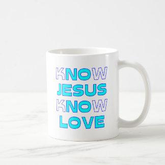 Know Jesus Know Love Coffee Mug