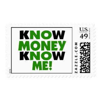 Know Money Know Me Postage