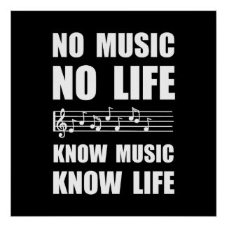 Know Music Know Life Poster