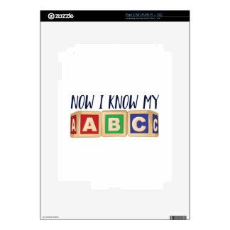 Know My ABC Skin For iPad 2