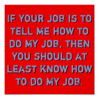 Know my job Poster