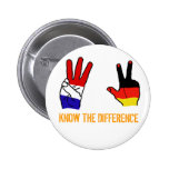 KNOW THE DIFFERENCE 2 INCH ROUND BUTTON