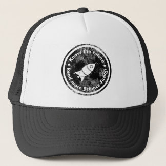 Know the Future - READ more Science fiction Trucker Hat