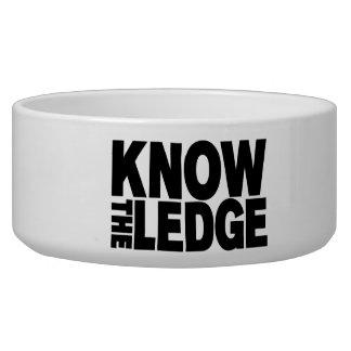 KNOW THE LEDGE BOWL