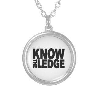 KNOW THE LEDGE ROUND PENDANT NECKLACE