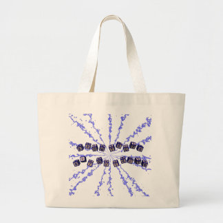 Know the truth but my truth jumbo tote bag