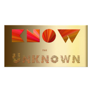 Know the Unknown Photo Card