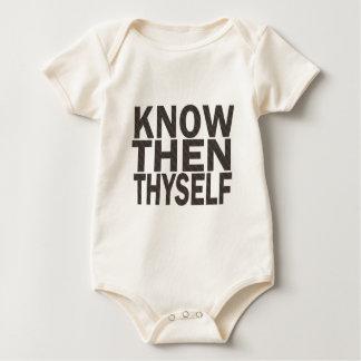Know Then Thyself Baby Bodysuit