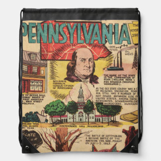 Know This About Pennsylvania Drawstring Backpack