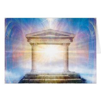 Know Thy Self (Blue) Card