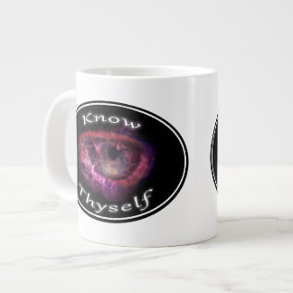 Know Thyself - All Seeing Eye Crab Nebula Large Coffee Mug