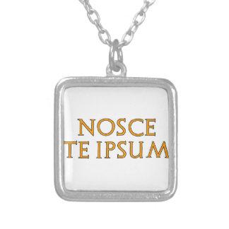 Know Thyself Custom Necklace