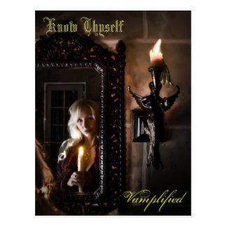Know Thyself Vamplified Postcard