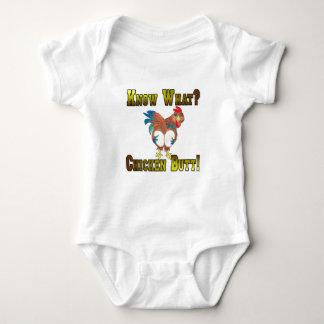 Know What?  Chicken Butt! Baby Bodysuit
