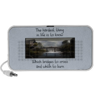 Know Which Bridge Travelling Speakers