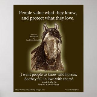 Know Wild Horses 16x20 Print LLMartin