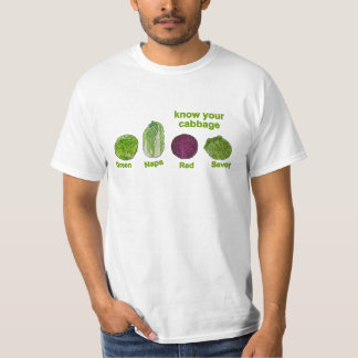 Know your cabbages T-Shirt