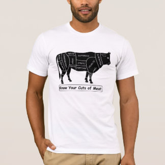 Know Your Cuts of Meat T-Shirt