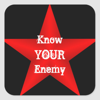 Know Your Enemy Sticker