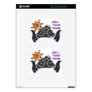 Know your fears xbox 360 controller decal