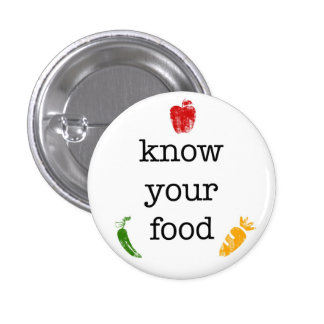 Know Your Food Pin