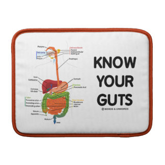 Know Your Guts (Digestive System) MacBook Sleeve