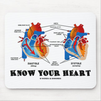 Know Your Heart Heart Anatomy Mouse Pad