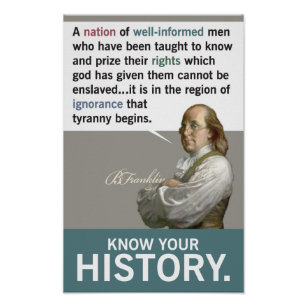 Know Your History! Poster