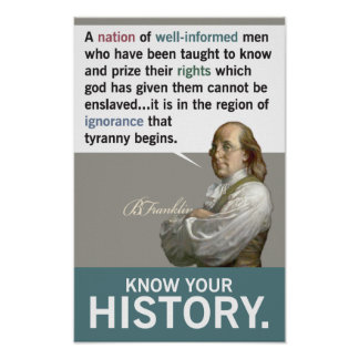 Know Your History Print