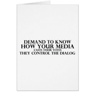 Know Your Media Card