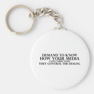 Know Your Media Keychain