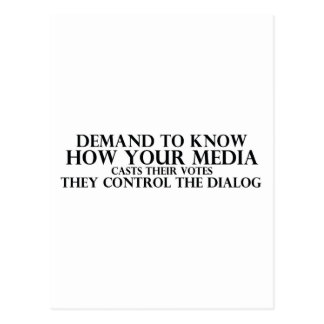 Know Your Media Postcard