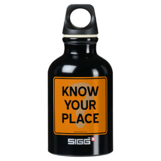 KNOW YOUR PLACE? SIGG TRAVELER 0.3L WATER BOTTLE