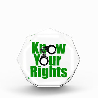 KNOW YOUR RIGHTS - police state/prison/drug war Award