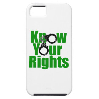 KNOW YOUR RIGHTS - police state/prison/drug war iPhone SE/5/5s Case