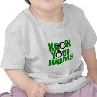 KNOW YOUR RIGHTS - police state/prison/drug war Shirts