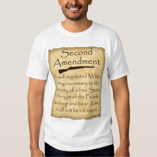 Know Your Rights-Second Amendment Shirt