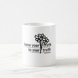 Know Your Truth, Be Your Truth U4W Coffee Mug