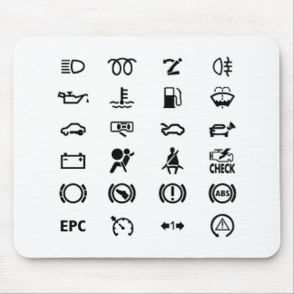 Know Your Warning Signs Mouse Pad