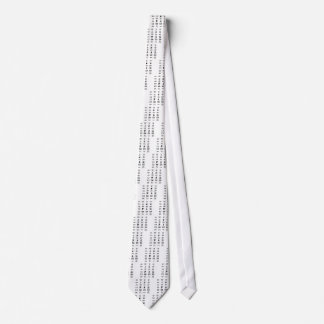 Know Your Warning Signs Neck Tie