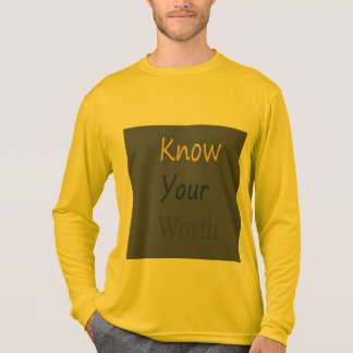 Know Your Worth long sleeve Tshirt