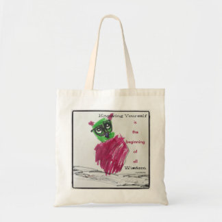 Know Yourself Owl Tote