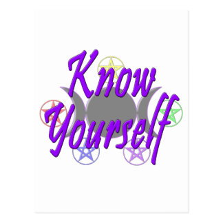 Know Yourself Postcard