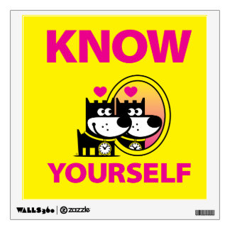 Know Yourself Wall Sticker