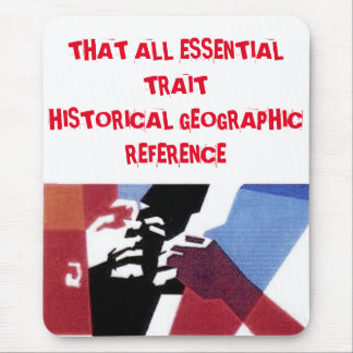 knowing history mouse pad