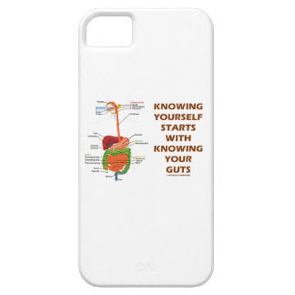 Knowing Yourself Starts With Knowing Your Guts iPhone SE/5/5s Case