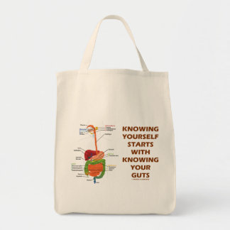 Knowing Yourself Starts With Knowing Your Guts Tote Bag