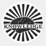 """Knowledge """"Burst"""" Sticker"""