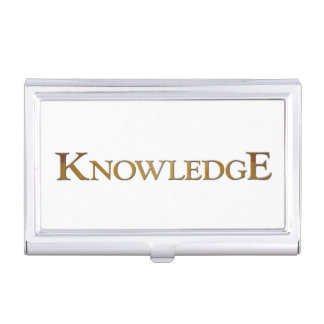 Knowledge Case For Business Cards