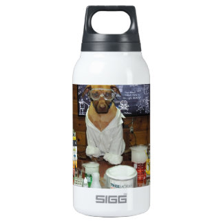 Knowledge Dog Dipole Moment Insulated Water Bottle